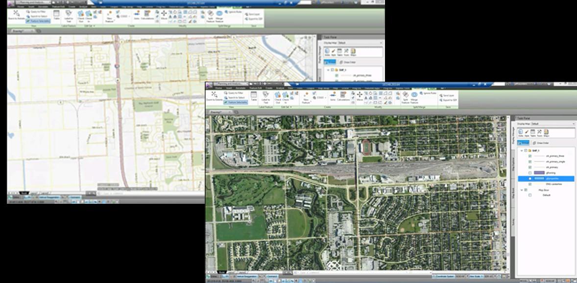 Resultado de imagen de AutoCad Map 3D