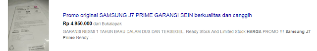harga samsung j7 prime di indonesia