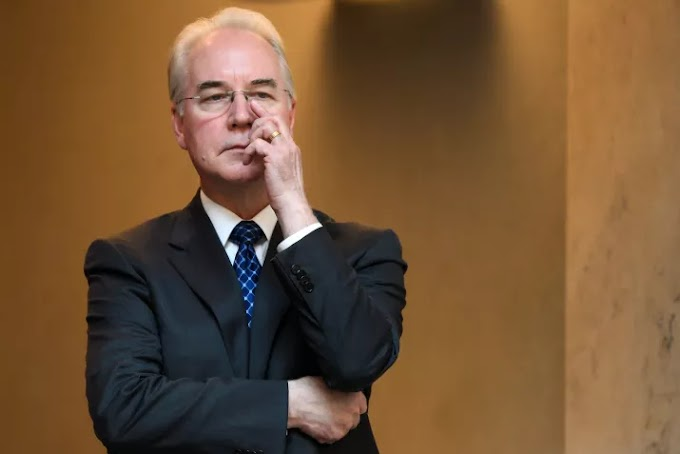 Health Secretary Tom Price Is Out Over Air Travel Scandal