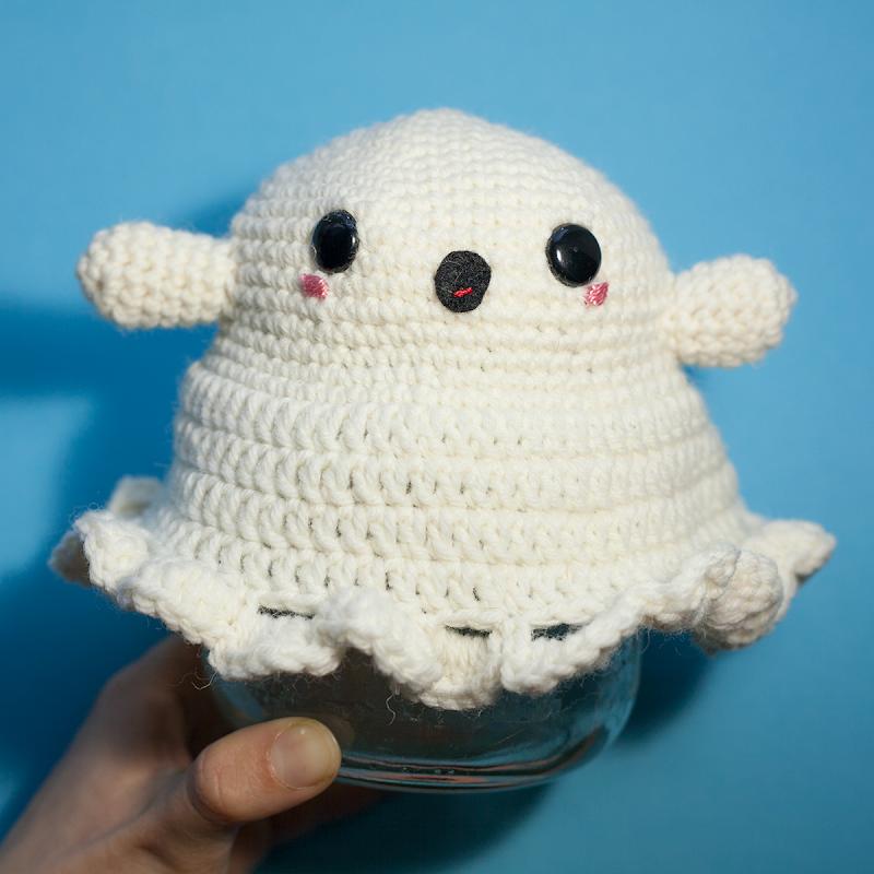 Amigurumi ghost crochet free pattern
