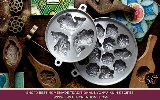 SHC 20 Best Homemade Malay & Nyonya Traditional Kuih Recipes