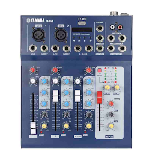 F4-USB YAMAHA 4 CHANNEL MIXER With USB 3M Electronix Cebu Philippines Electronics parts and components supplier online store