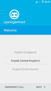 cyanogenmod12.1 screenshot