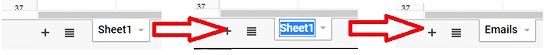 Rename Sheet