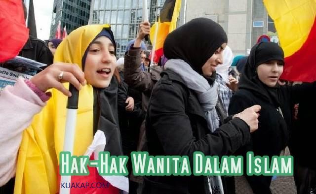 inilah Hak-Hak Wanita Dalam Islam