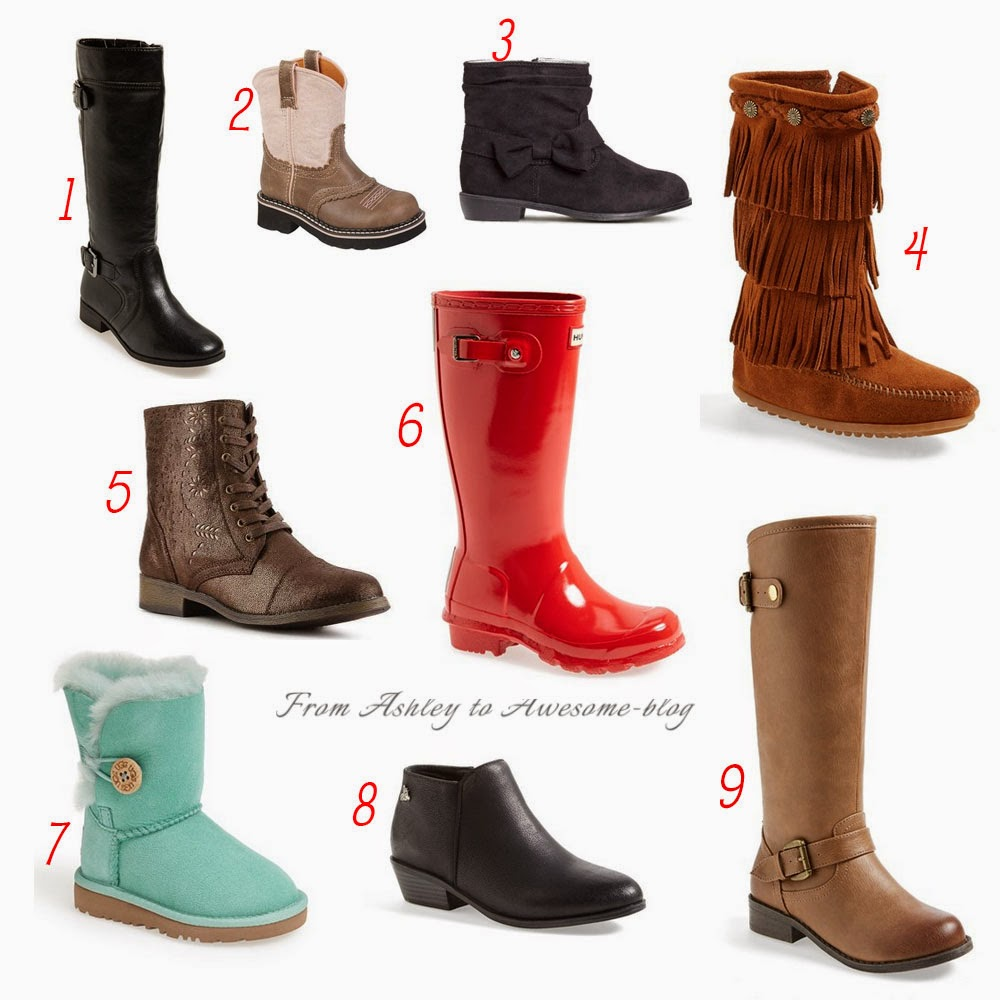 Fall Boots for Little Girls | From Ashley to Awesome