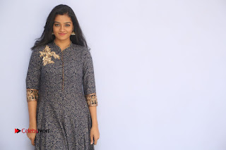 Actress athri Stills in Long Dress at Pizza 2 Audio Launch 0151