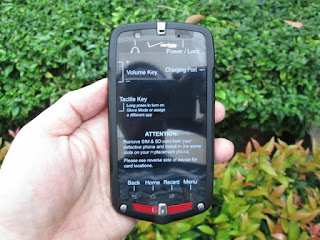 Hape Outdoor Casio G'zOne Commando C811 4G LTE IP67 Military Standard