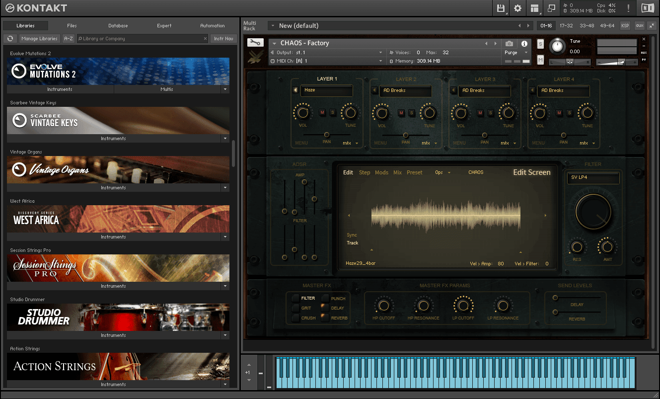 HybridTwo - Project Chaos KONTAKT Library full version