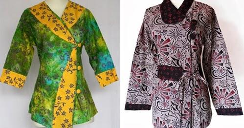 Ide 39 Model Baju Batik Atasan Modern Orang Gemuk