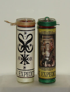 St. Expedite Candles at Creolemoon.com