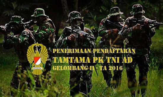 Penerimaan Tamtama TNI AD 2016