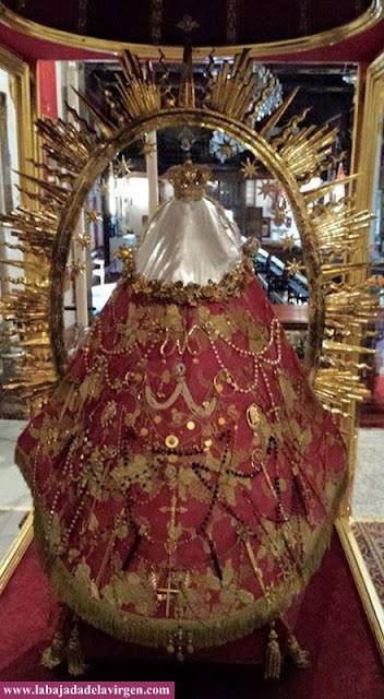 La venerada imagen de Nuestra Señora de Las Nieves