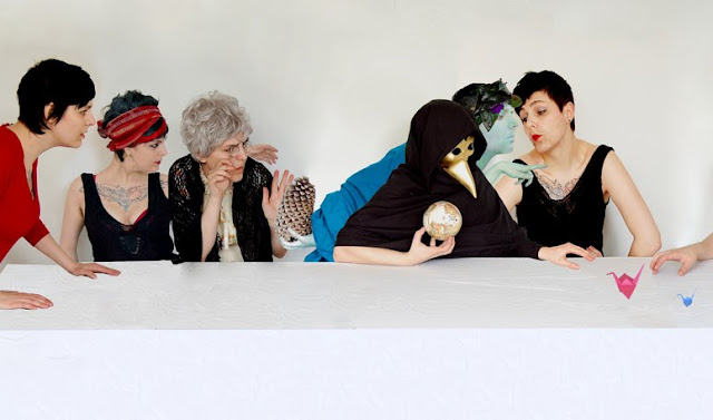 A Lesbian Last Supper by arfism (detail)