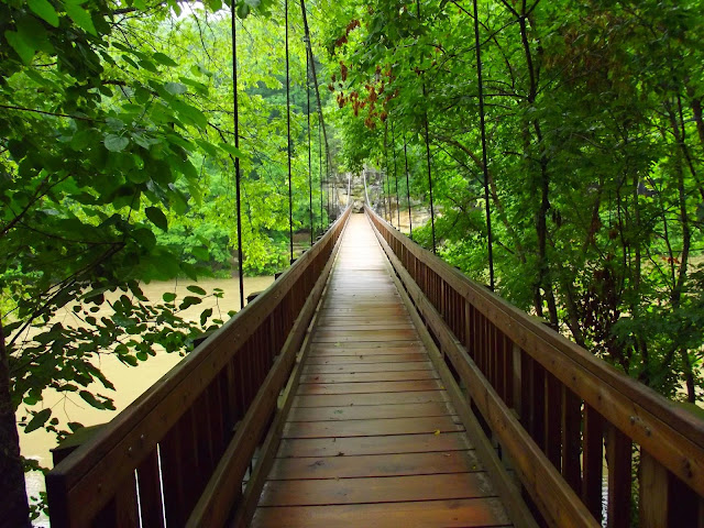 Turkey Run State Park Suspension Bridge