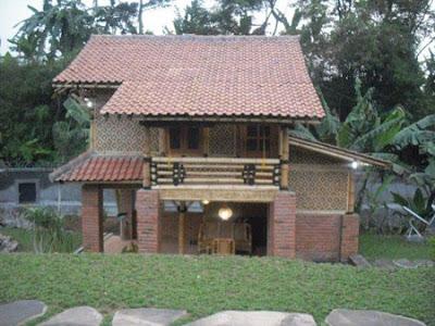 Desain Rumah Bambu Modern Dan Minimalis Khas Pulau Jawa 4