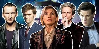 The last 5 Doctors; photo from digitalspy.com