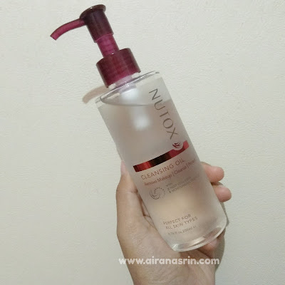 Nutox Cleansing Oil, Cleansing oil, cleansing oil best, oil cleanser, oil based cleanser, drugstore produt, nutox, nutox product