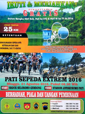 Lomba Pati Sepeda Extreme