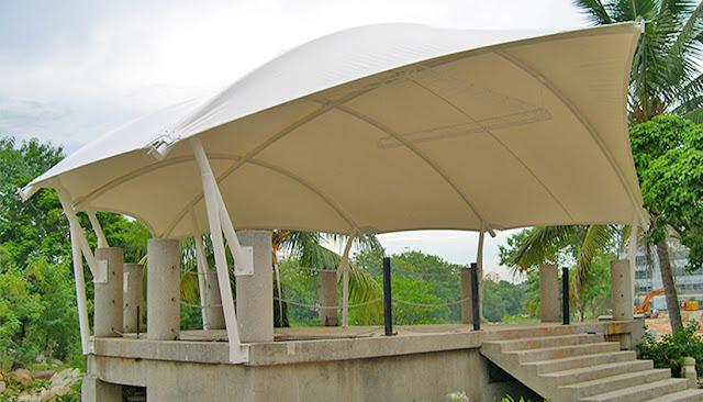 tenda taman canopy membran