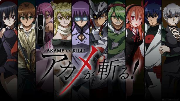 Akame ga Kill - Daftar Anime Fantasy Terbaik Sepanjang Masa