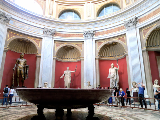Round Hall in Vatican Museums