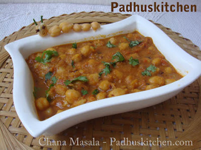 Channa masala chole masala how to prepare channa masala padhuskitchen channa masala forumfinder Image collections