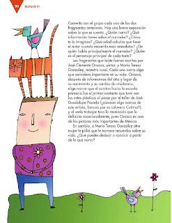 Apoyo Primaria Formación Español 3ro. Grado Bloque III Lección 8 Practica social del lenguaje 8, Escribir un relato autobiográfico para compartir