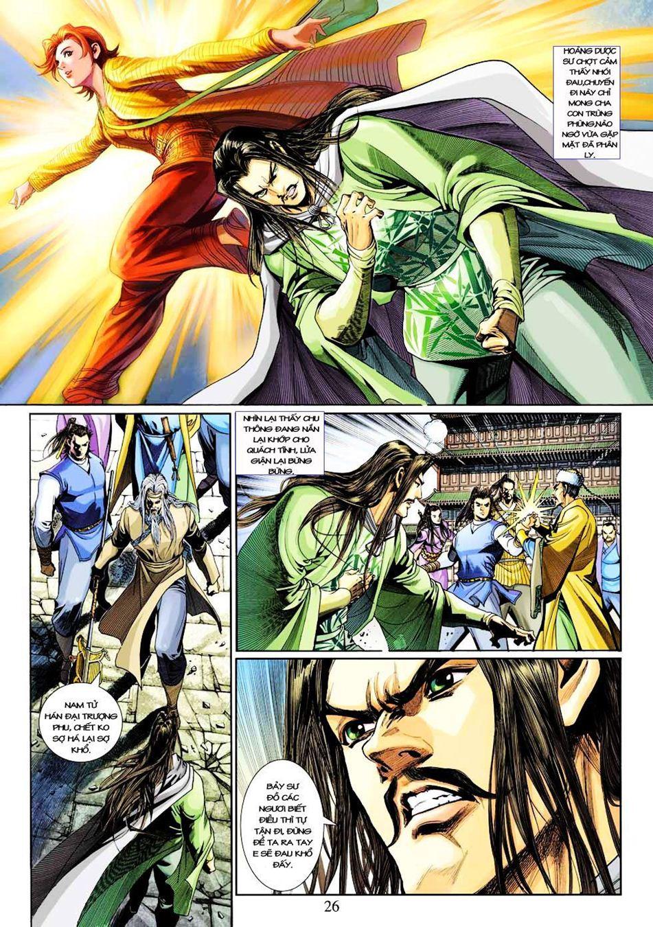 Anh Hùng Xạ Điêu anh hùng xạ đêu chap 33 trang 26
