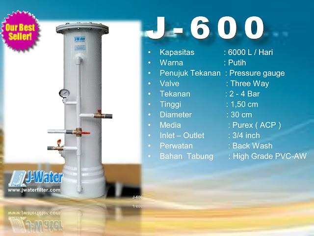 Alat Penjernih Air J600