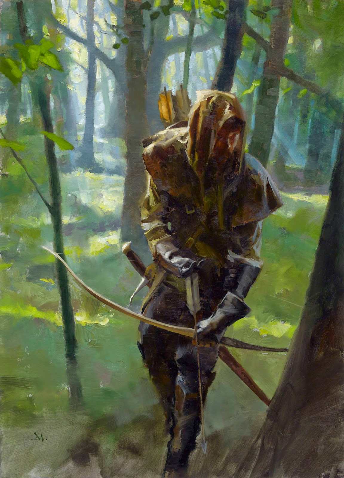 Robin Hood by Gregory Manchess : ImaginaryCharacters