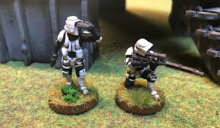 The Sniper Team from FFG's Scout Trooper expansion