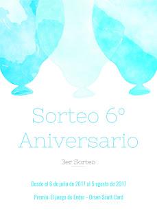 3er Sorteo del 6º aniversario [Lectura directa]