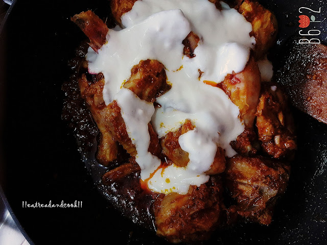 how to make Punjabi Tariwala Chicken Curry recipe and preparation with step by step pictures