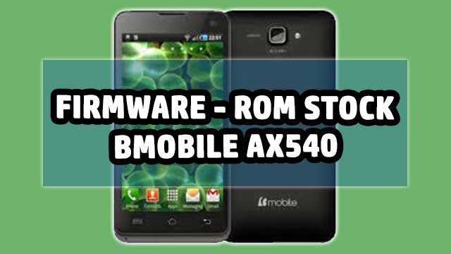 rom stock Bmobile AX1035