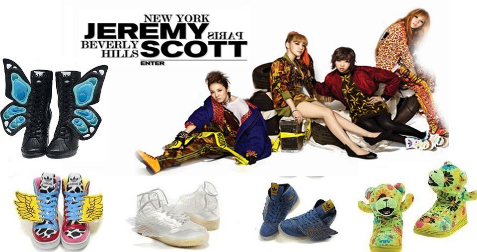 39a85963731c Coolourful Adidas Originals Jeremy Scott 2NE1 JS Wings Multicolor Shoes