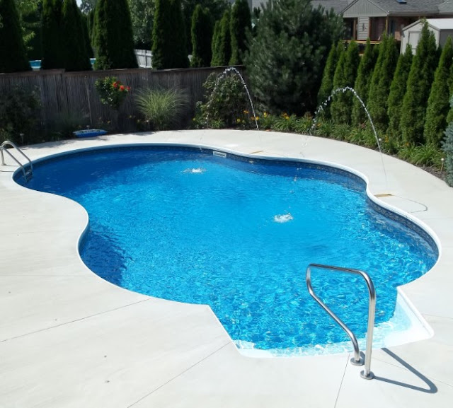 Comfort Inground Pools for Small Home