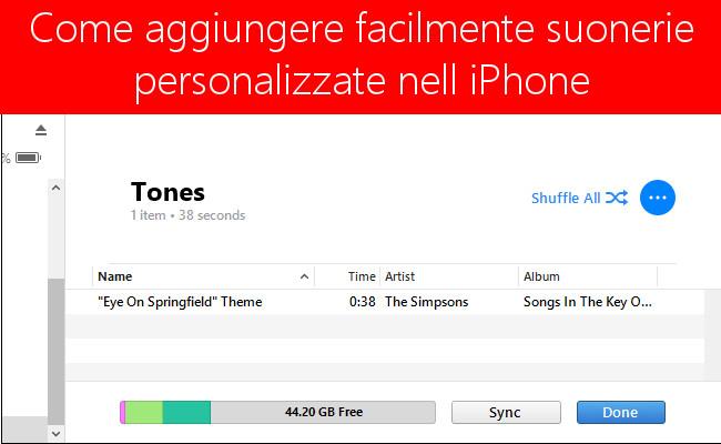 Come aggiungere e creare suonerie personalizzate nell'iPhone