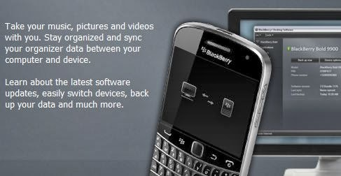 Cara Upgrade Software Blackberry