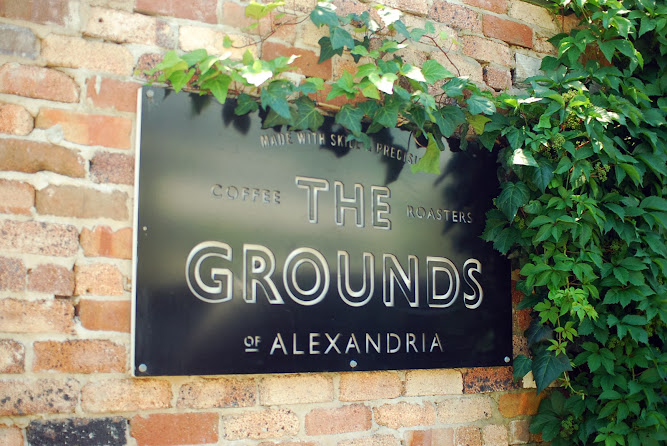 The Grounds Alexandria Sydney Food Blog Sign Logo
