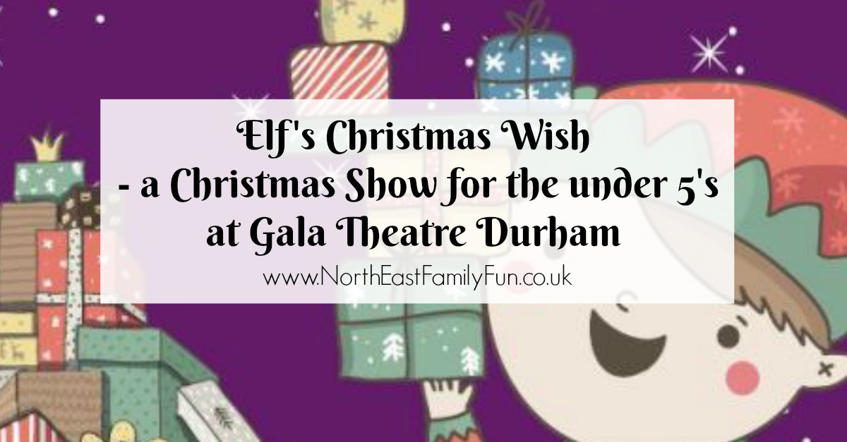 Elf's Christmas Wish - A Christmas Performance for the Under 5's at the Gala Theatre Durham | A Review
