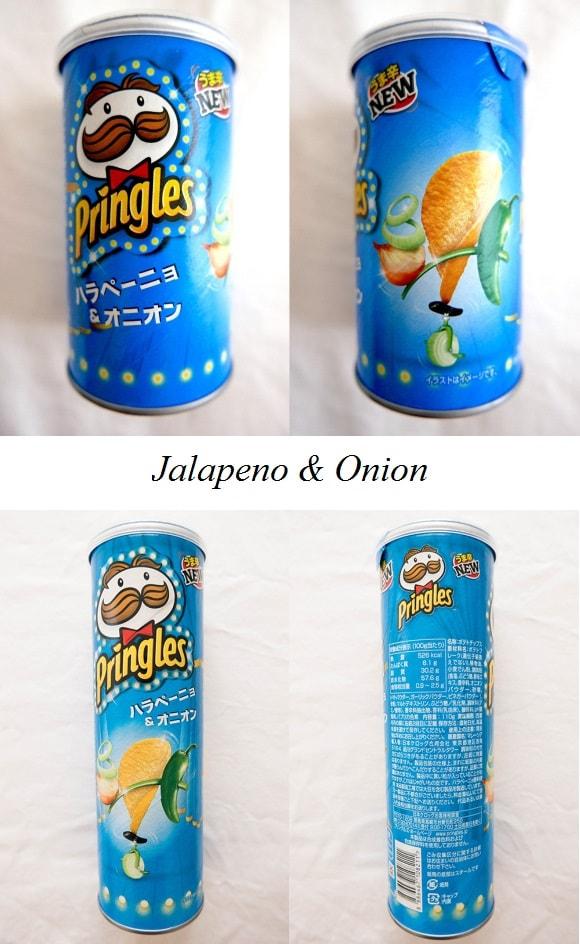 Pringles Jalapeno & Onion