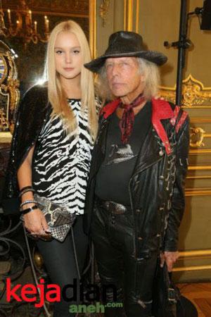 Anna Sergeevna With James Goldstein Kakek Playboy 71 Tahun ini Kencani Model Cantik 25 Tahun