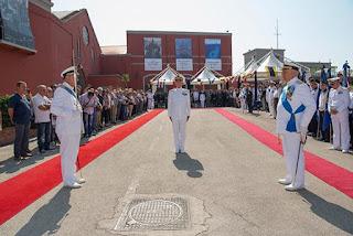 Cambio al vertice del Comando logistico della Marina Militare