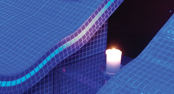 Glow In The Dark Mosaic Tiles By 5 Companies Make Light Of Your Pool And Home If It S Hip It S Here
