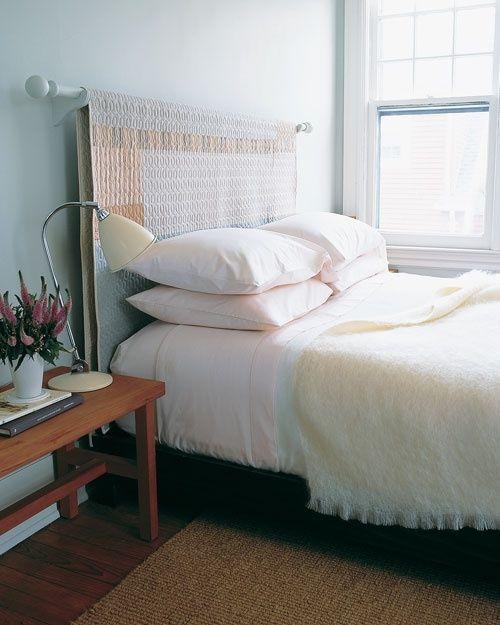 quarto de casal com cabeceira diferente Quartos de casal pequenos , como decorar