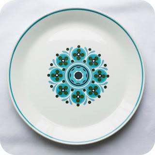 Delilah Vintage Plate