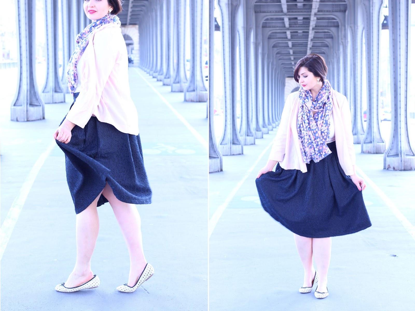 Look printemps parisienne