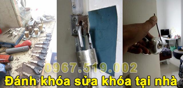 sửa chữa khóa cửa nhà tại nhà