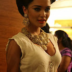 Amy Jackson hot photos at ramp walk